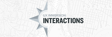 UX Immersion: Interactions 2017 logo